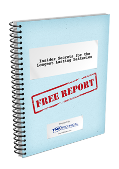 Get Your FREE PDF with secrets to keep your batteries lasting longer!